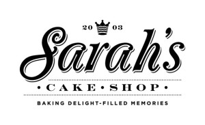 Sarah's Cake Shop logo website 1 email blast